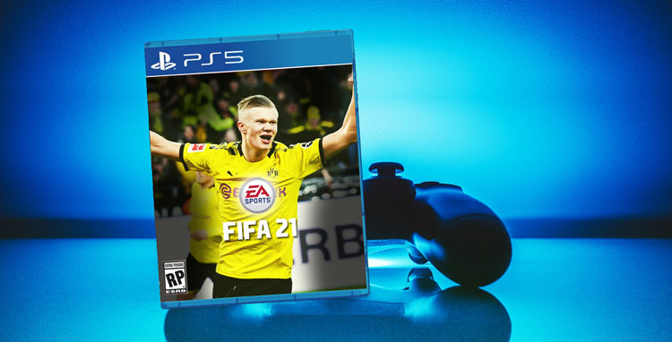 FIFA 21 for Playstation 5 Possible Cover - FIFAtalents.com